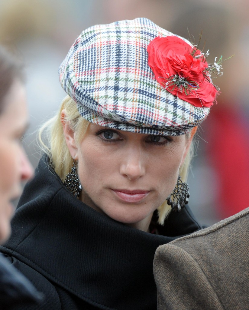 Zara Phillips - Cheltenham Gold Cup